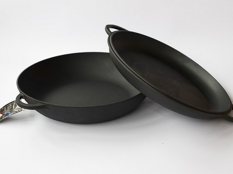 чугунные сковороды ситон