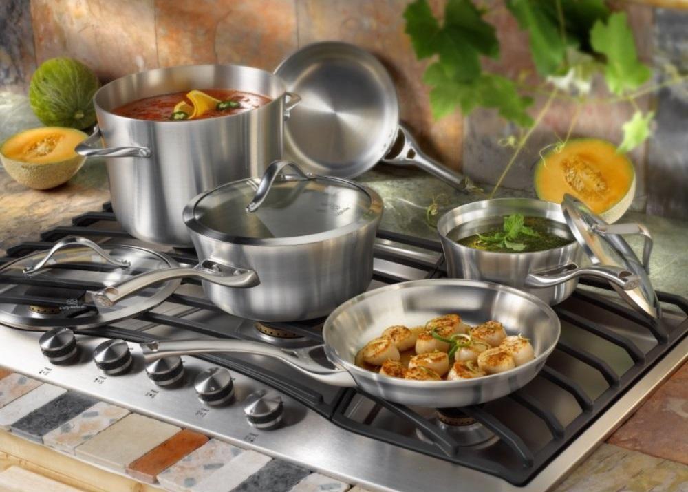 посуда для кухни из нержавейки