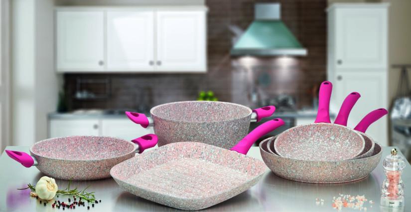 посуда с мраморным покрытием фото