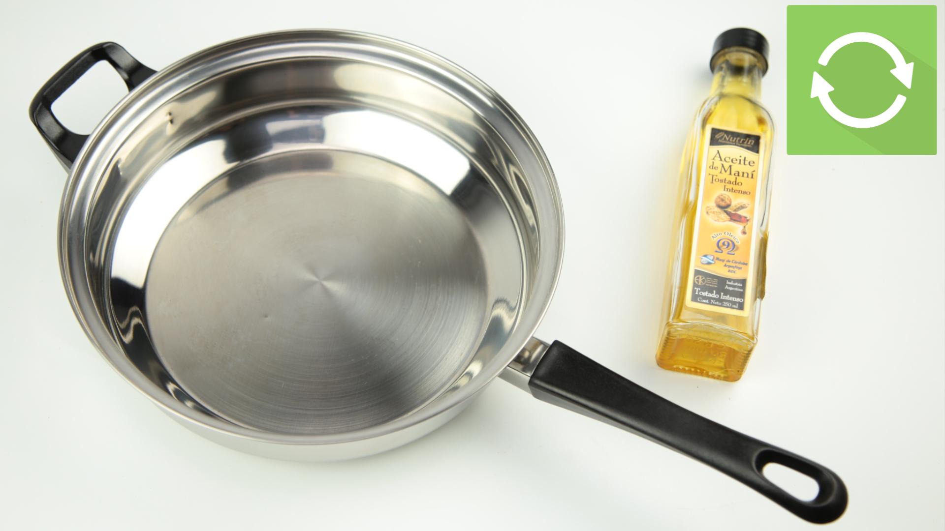 прокаливание стальной сковороды
