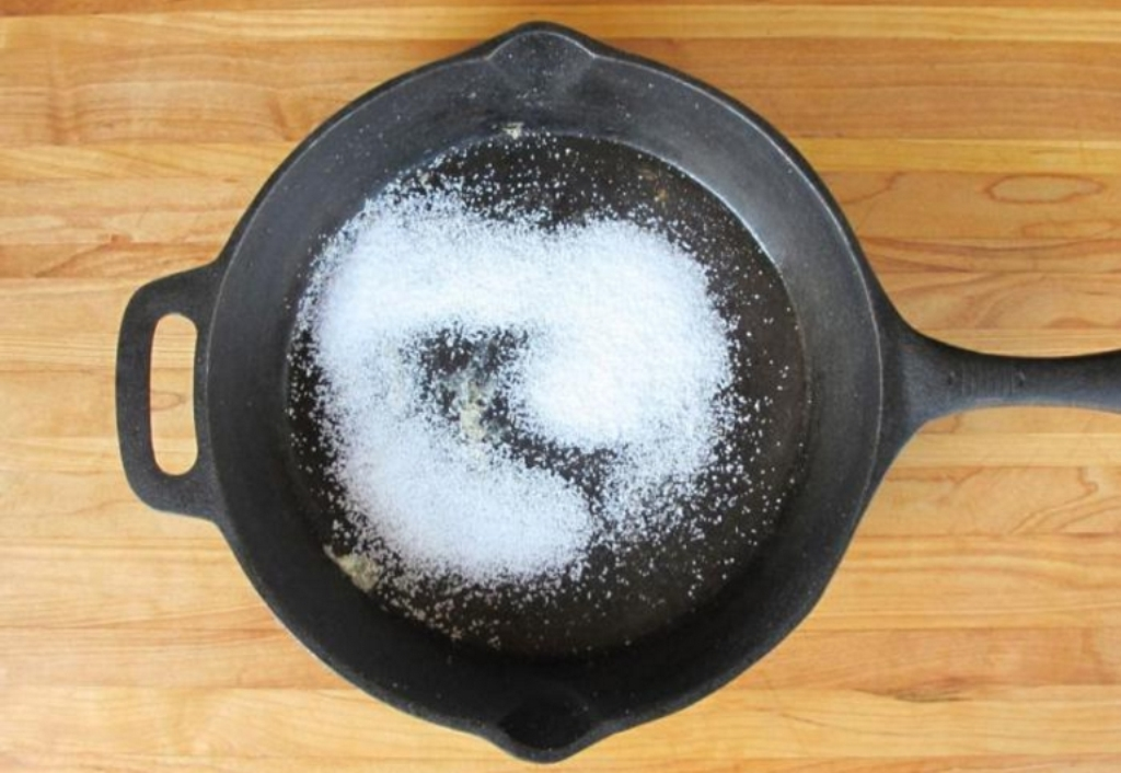 прокаливание с солью