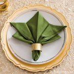 складывание салфеток для сервировки виды декора