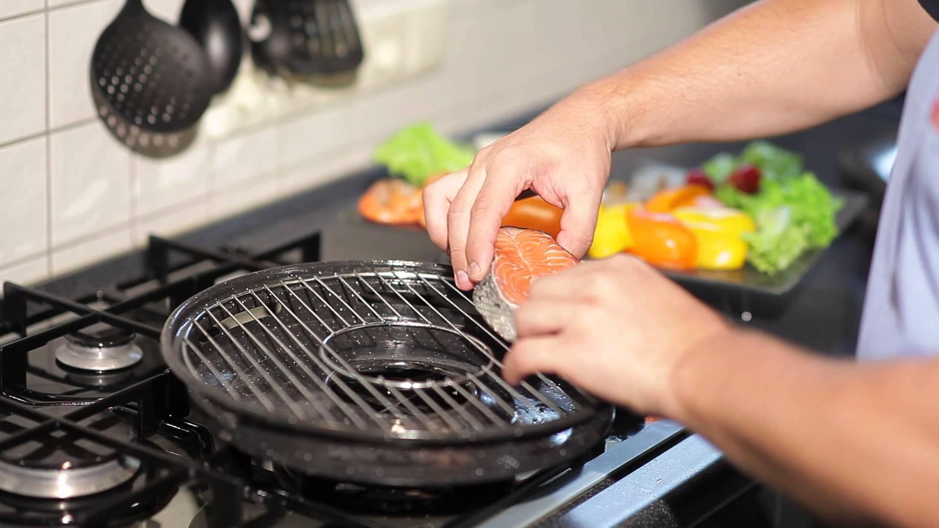 сковорода гриль фото