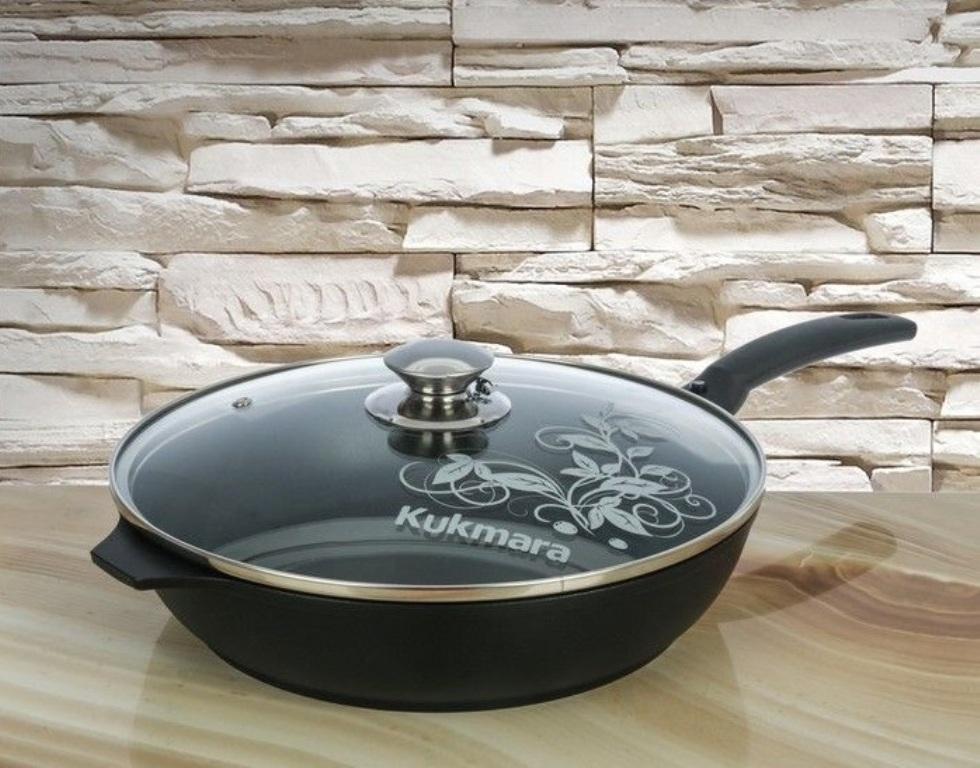 сковорода Kukmara с крышкой