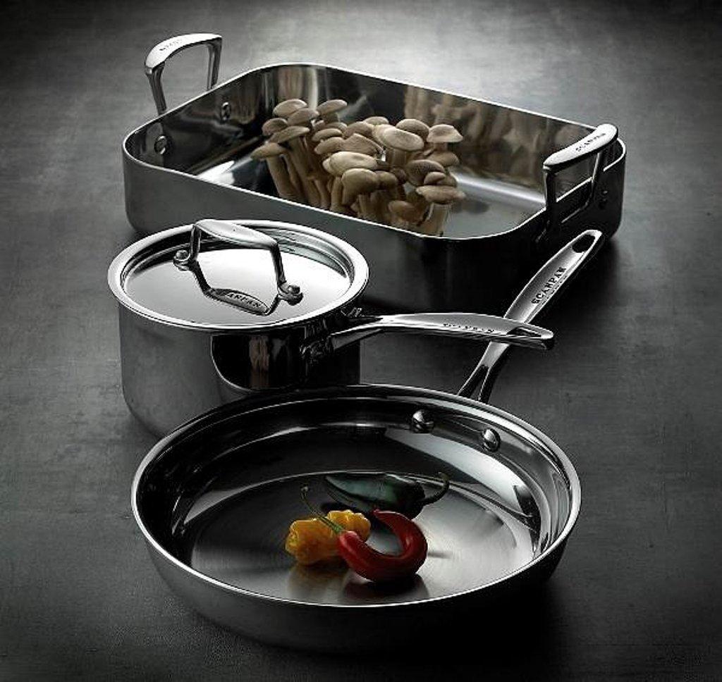 стальная посуда