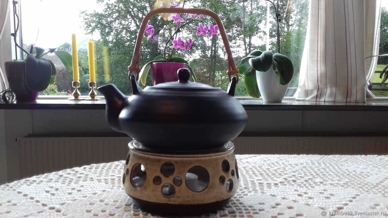 заварочный чайник с подогревом от свечи оформление