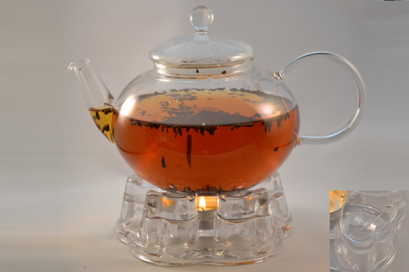 заварочный чайник с подогревом от свечи виды