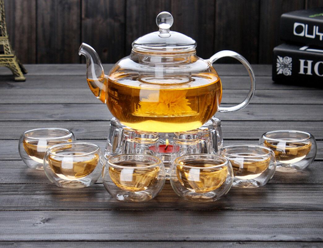 заварочный чайник с подогревом от свечки