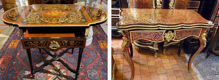 Антикварные ломберные столы
