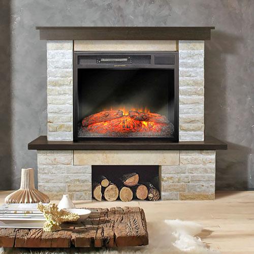 <p><b>Функциональные</b><p> Могут быть использованы для обогрева комнаты. В них нельзя разжигать дрова, но можно поместить радиатор отопления. Возводятся из наиболее прочных материалов, устойчивых к высоким температурам: камня, кирпича и пр.