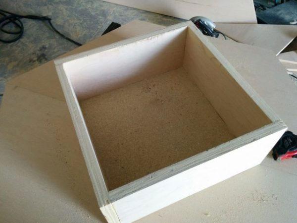 Изготовление конструкции для фиксации столешницы
