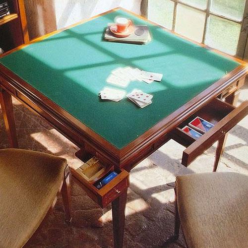 Ломберный стол для игры в карты