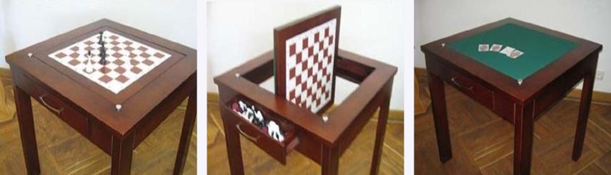Ломберный стол-трансформер