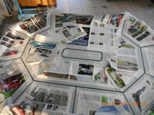 Создание просветов с помощью бумаги