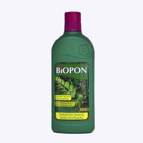 Удобрение Biopon для замиокулькаса