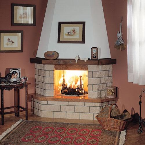 Камин источник тепла