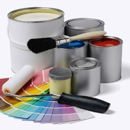 Отделочные термостойкие материалы (краска, эмаль, клей)