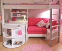 Выбираем кровать для девочки