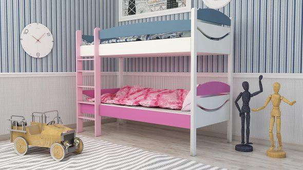 двухъярусная кровать для мальчика и девочки
