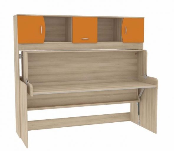 Детская кровать-стол трансформер Ника 428 Т