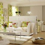 Оформление спальни гостиной