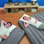 Кровать надувная односпальная 2 в 1