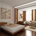 Мебель в спальне гостиной