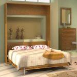 Подъемная кровать-диван Венге