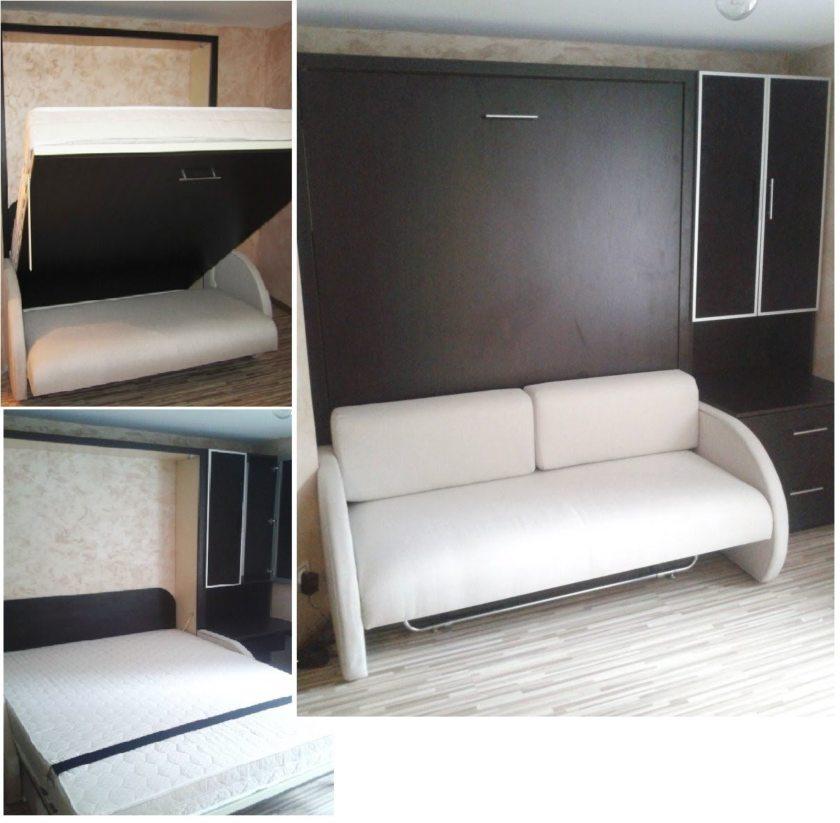 Кровати-трансформеры шкаф-кровать с диваном своими руками 106