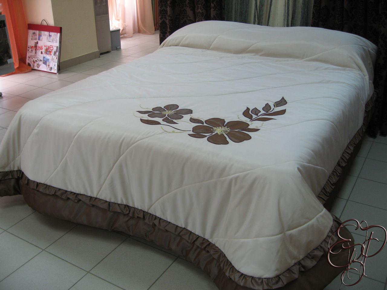 Как сшить покрывало на кровать пошагово