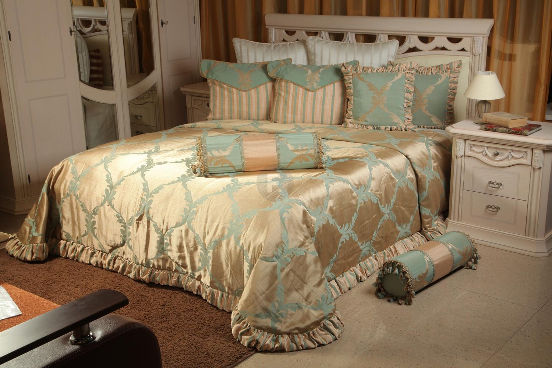 Дизайн покрывало на кровать в спальню новинки