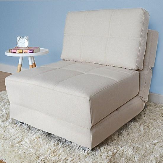 Практичное раскладное кресло для детской комнаты
