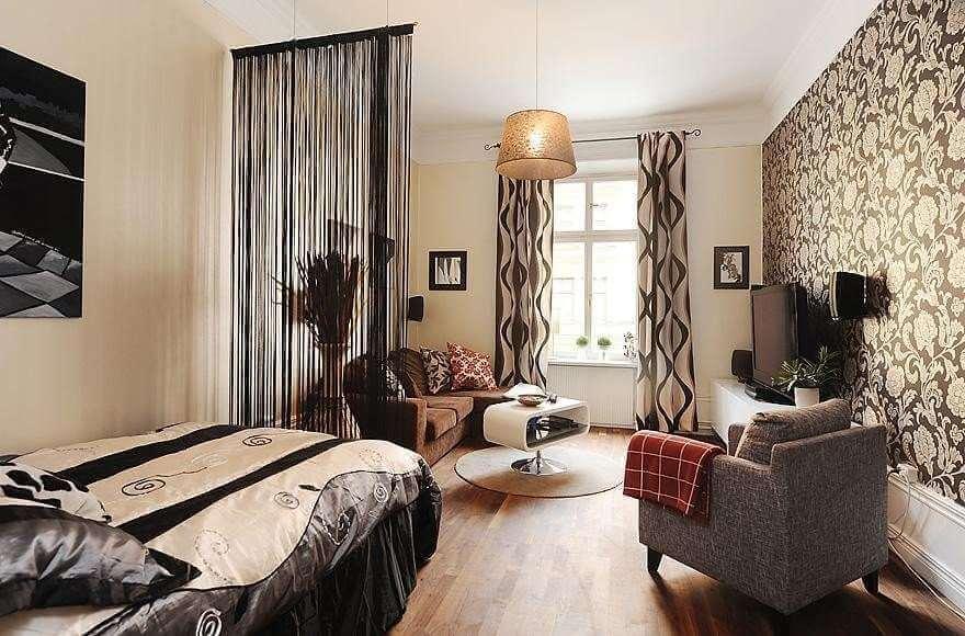 Как можно сделать гостиную спальню 929