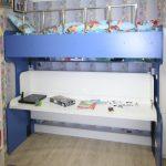 Стильная кровать-стол трансформеры