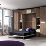 Встроенная кровать-диван