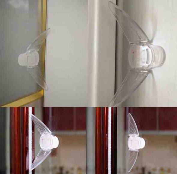Защита прозрачная на шкаф-купе