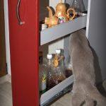 бутылочница выдвижная с котом