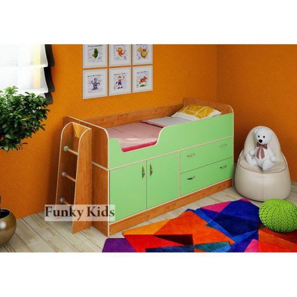 Идеальная кровать-чердак