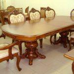 деревянные стулья стол для гостиной