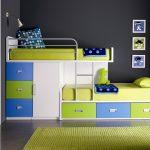 кровать на два уровня в детскую