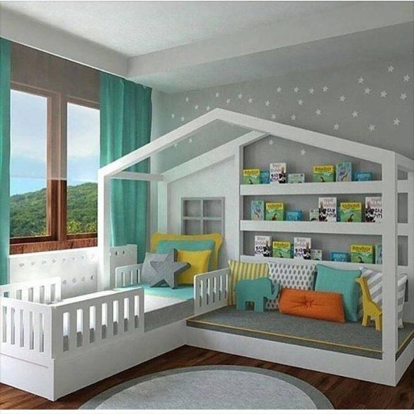домик кровать для девочки