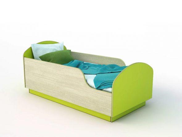 кроватка с бортиком для мальчика