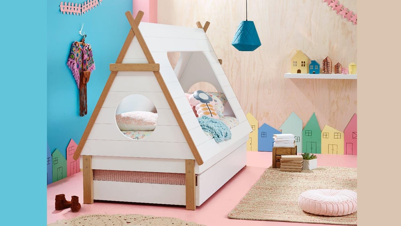 Детская кровать домик для девочки своими руками 20