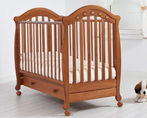детская кроватка классика