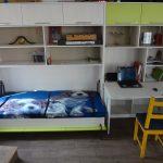Сорвеменная детская со встроенной кроватью