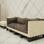 диван и кресло из паллетов