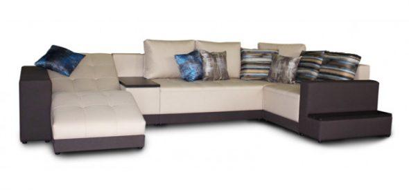 диван-кровать «Моне» угловой с полкой