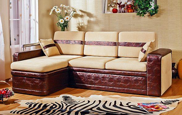Диван-кровать угловой Модель Шейх