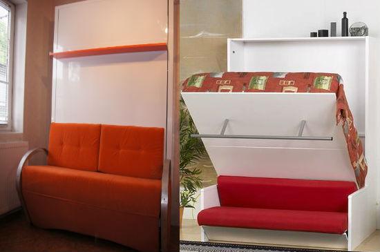 Кровать-трансформер для больших балконов