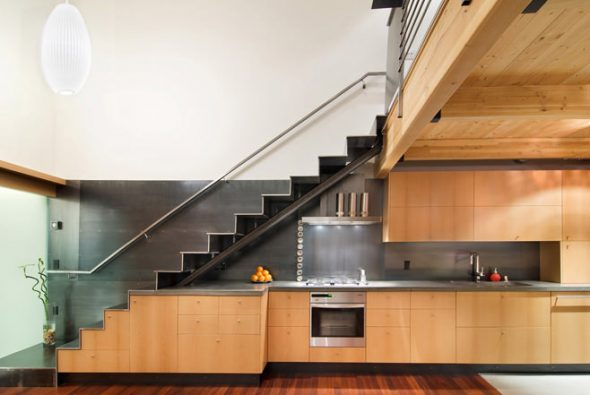 гарнитур под лестницей